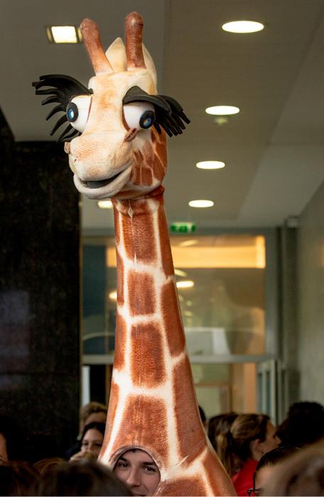 Mascotte des Girafes Awards